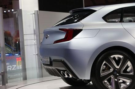 Viziv Evolution Concept - Tương lai của Subaru