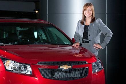 GM sẽ được trèo lái dưới bàn tay phụ nữ