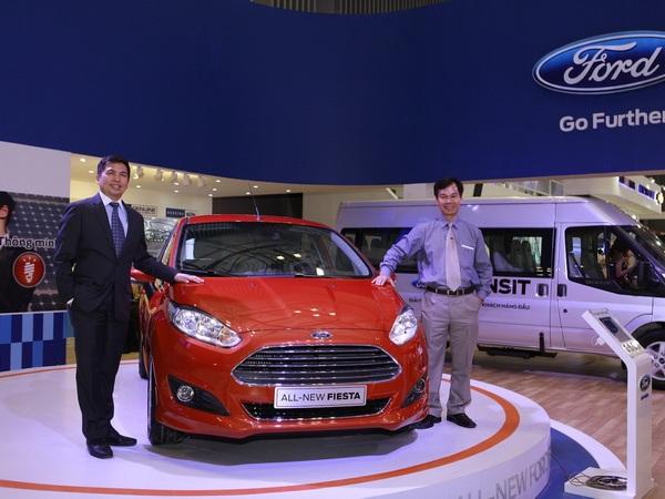 Ford Việt Nam có mức tăng trưởng nhanh nhất thị trường