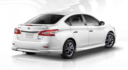 Ra mắt phiên bản thể thao của chiếc Nissan Sylphy