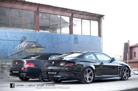 Vilner thay đổi BMW 6-Series với tên gọi Bullshark