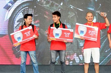 Giải thưởng cuộc thi lần này đã được trao cho:
