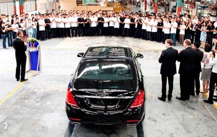 Mercedes-Benz Việt Nam lắp ráp S400L với giá 3,48 tỷ đồng