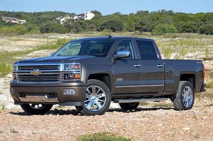 Chevrolet Silverado 2014:480.414 chiếc, sử dụng động cơ V8 6,2 lít,