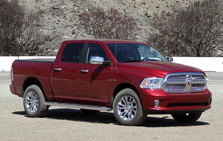 Ram Pick-Up 2014: 355.673 chiếc, sử dụng động cơ V6 3,0 lít diesel,