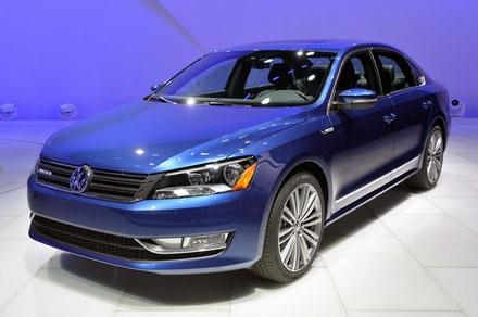 VW Passat BlueMotion Concept 1.4 TSI tiêu thụ 5,6 lít/100 km