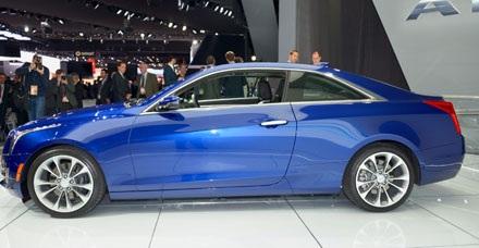 Cadillac ATS coupé xuất hiện tại Detroit Motor Show