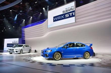 Subaru WRX STI 2015 – Niềm ao ước của các tín đồ tốc độ