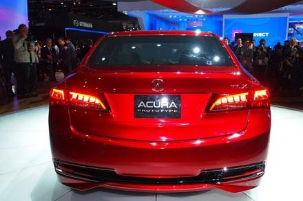 Acura TLX Concept chính thức ra mắt tại Detroit