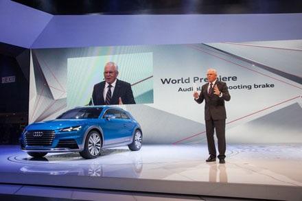 TT Shooting Brake Crossover mẫu xe sắp tới của Audi?