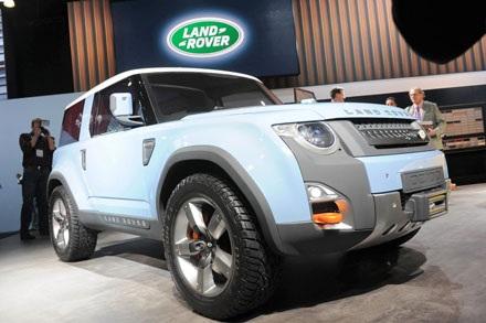 Land Rover cho ra đời chiếc SUV cỡ nhỏ Landy?