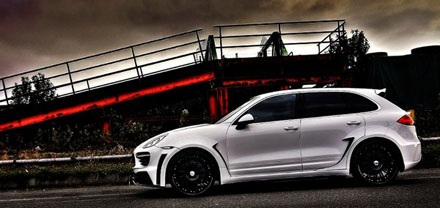Porsche Cayenne II Sports Line Black Bison Edition