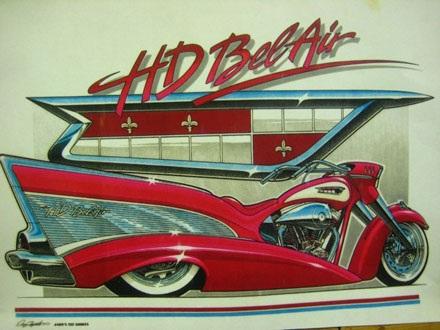 Mẫu Harley-Davidson Bel Air theo phong cách Lupo Racing
