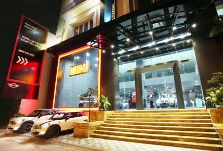 Showroom đầu tiên của MINI tại Việt Nam được đặt tại Hà Nội