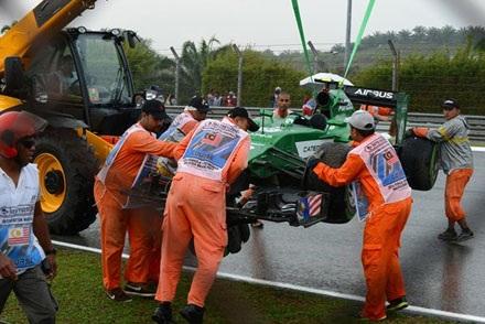 F1 tại Malaysia chuẩn bị khởi tranh