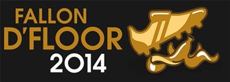 Biểu tượng giải Fallon D'Floor nhái theo giải Ballon D'Or