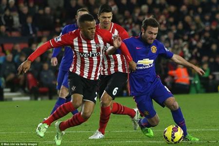 MU thắng may mắn trước Southampton