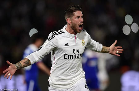 Sergio Ramos tự tin về sức mạnh của Real Madrid