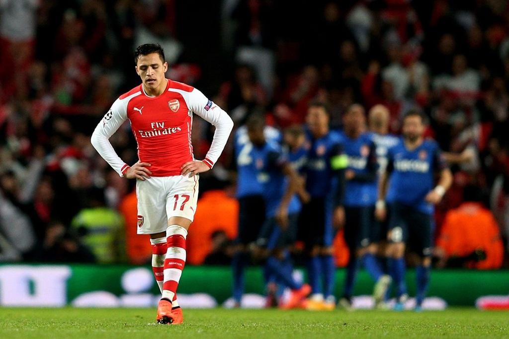 Arsenal thất bại toàn diện trước Monaco