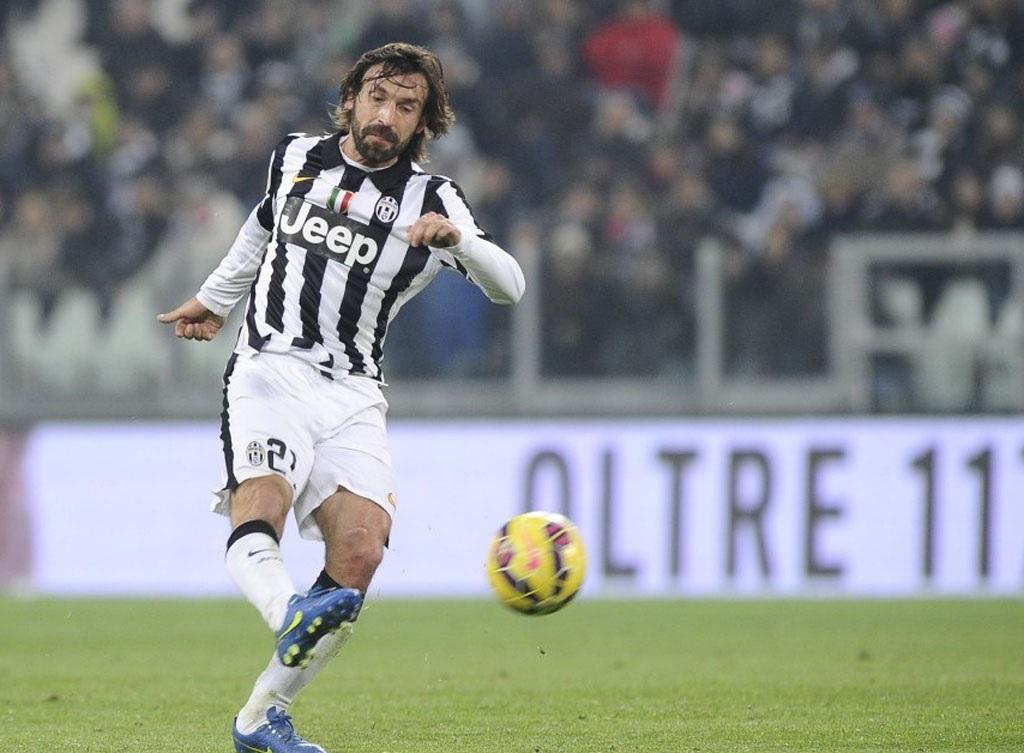 Pirlo đã ghi bàn thắng tuyệt đẹp, giúp Juventus chiến thắng
