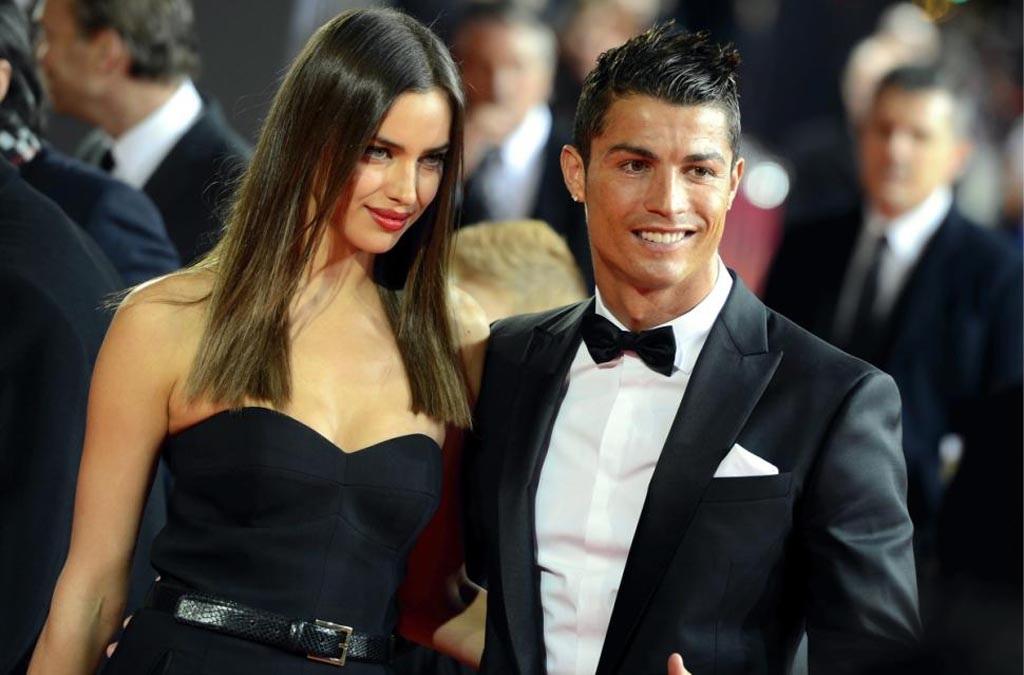 C.Ronaldo xác nhận chia tay Irina Shayk