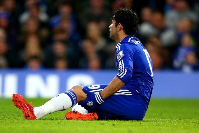 Chấn thương của Diego Costa là tổn thất lớn với Chelsea