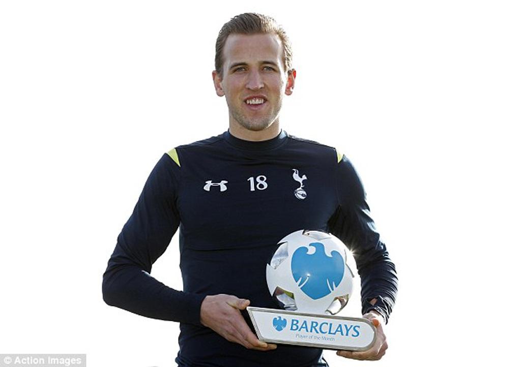 Harry Kane xuất sắc nhất Premier League hai tháng liên tiếp