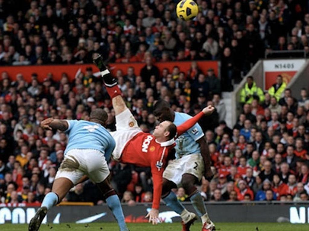 CĐV MU hy vọng Wayne Rooney sẽ ghi bàn vào lưới Man City