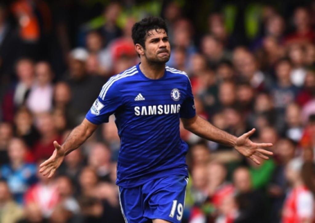 Diego Costa thi đấu thành công trong mùa đầu tiên khoác áo Chelsea
