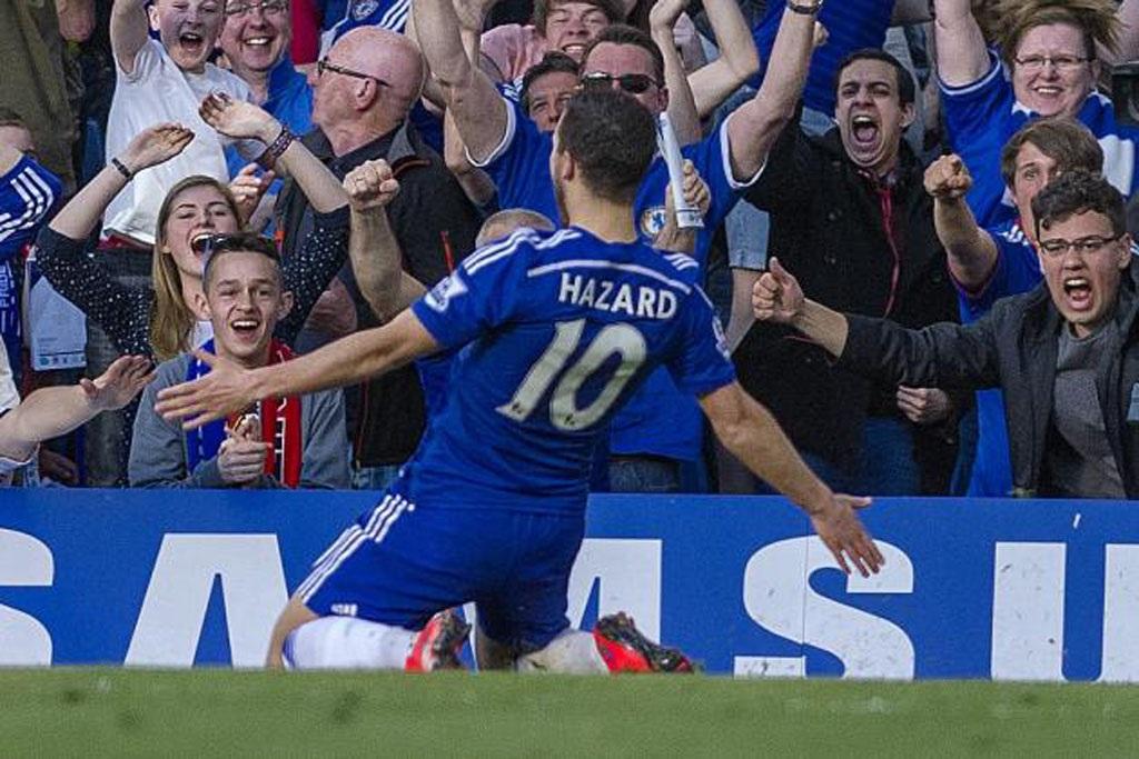 Eden Hazard ngày càng quan trọng với Chelsea