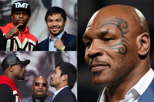 Mike Tyson lựa chọn Pacquiao chiến thắng