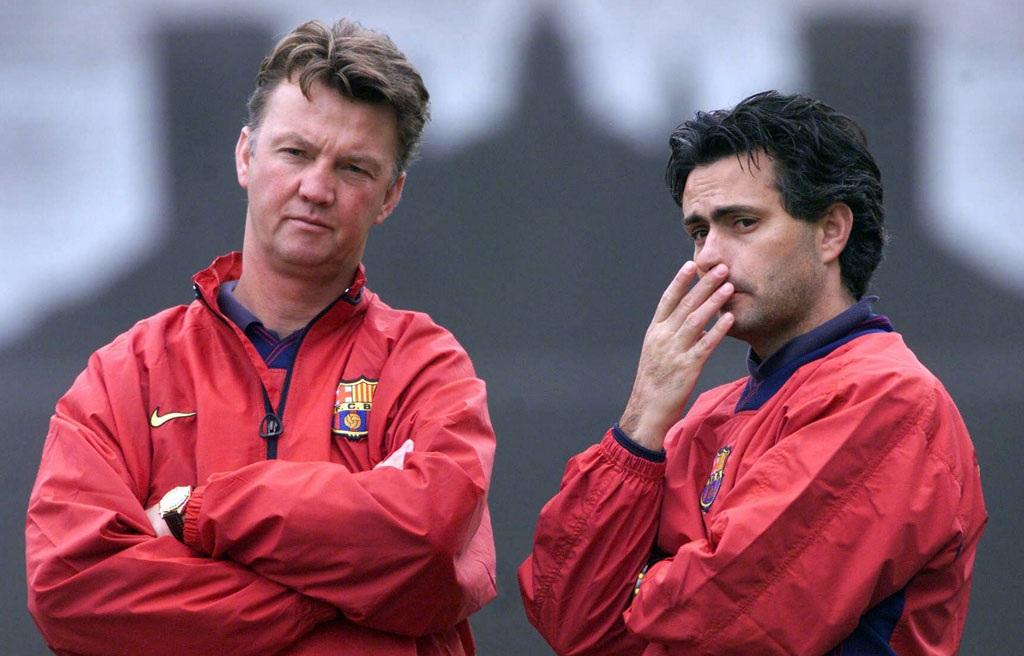 Mourinho là người học trò đặc biệt của Van Gaal