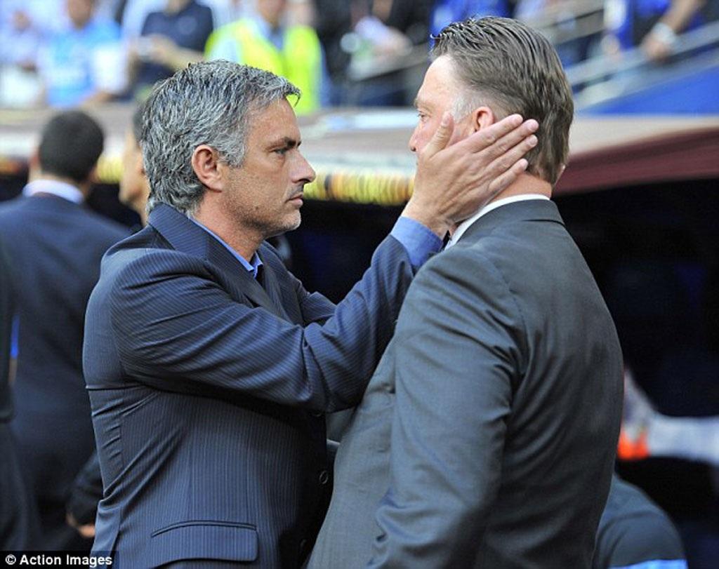Đại chiến thày trò Van Gaal-Mourinho thực sự đáng chú ý