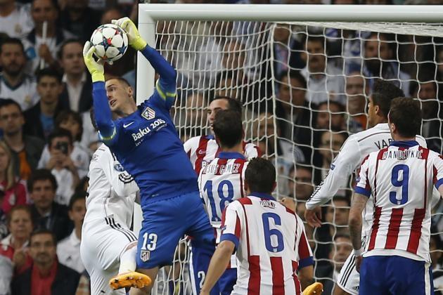 Jan Oblak tiếp tục tỏa sáng rực rỡ trước Real Madrid
