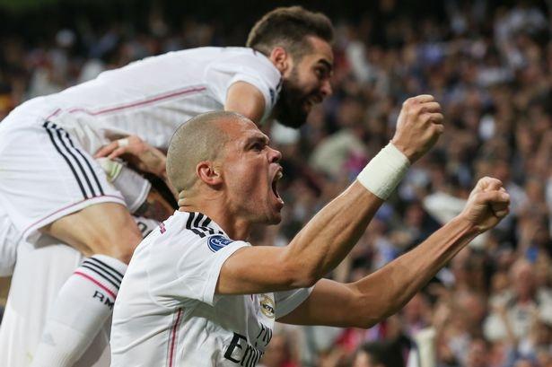 Pepe điềm tĩnh tới lạ thường trước Atletico Madrid