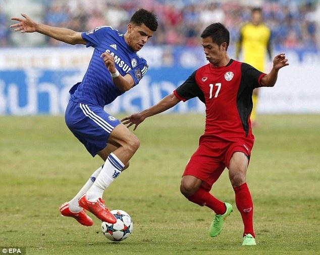 Chelsea vượt qua Thái Lan với tỷ số nhẹ nhàng 1-0