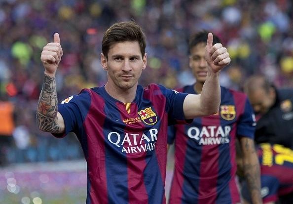 Messi, nhân tố chủ chốt giúp Barcelona vô địch