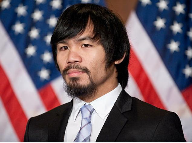 Ngoài nghiệp quyền anh, Manny Pacquiao còn theo nghiệp chính trị