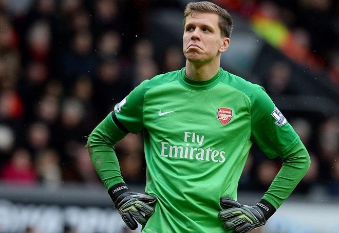 Szczęsny gây thất vọng lớn ở Arsenal