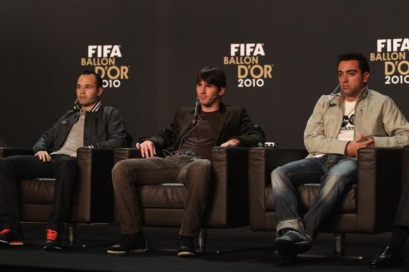 Thiếu xót duy nhất trong sự nghiệp của Xavi là chưa thể giành được Quả bóng vàng