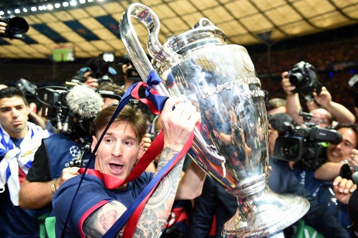 Niềm vui vỡ òa của người hùng Messi