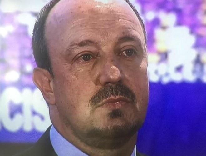 HLV Rafa Benitez bật khóc trong ngày ra mắt Real Madrid