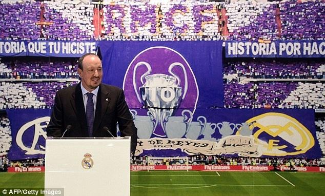 Ông phát biểu trong ngày ra mắt CLB mới