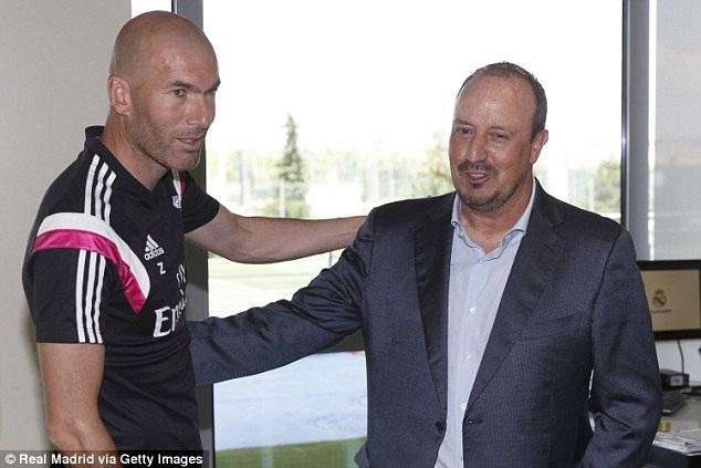 Gặp gỡ HLV đội trẻ, Zidane