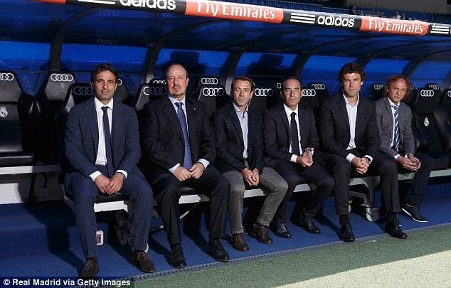 Bộ sậu Ban huấn luyện của Real Madrid
