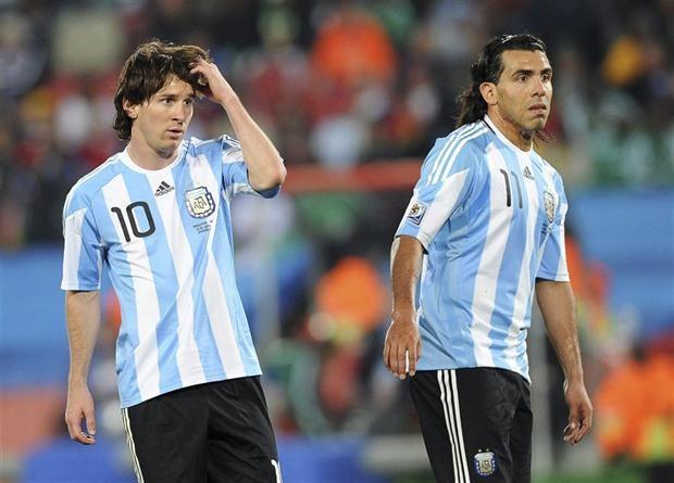 Tevez và Messi, đại diện cho những điều trái ngược