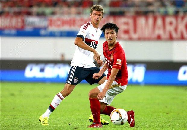 Bayern Munich bất ngờ thất bại trước Guangzhou Evergrande