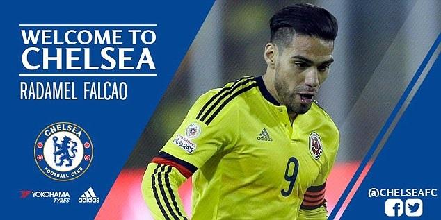 Falcao giảm nửa lương để tới Chelsea