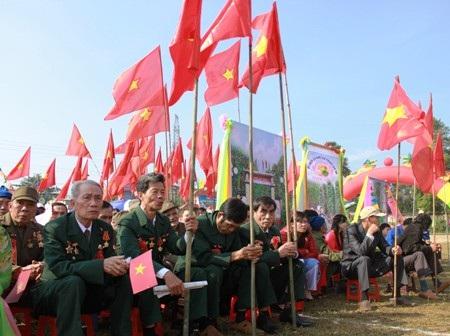 Nhiều cựu chiến binh đã góp một phần công sức tạo nên chiến thắng lẫy lừng, giải phóng quê hương