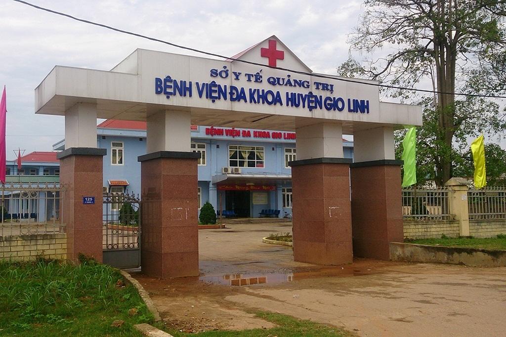 Trưa 21/2, người thân phát hiện chị Hà cùng bé sơ sinh đã tử vong tại bệnh viện huyện Gio Linh